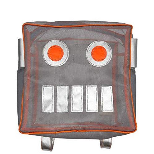 Robot Mesh Backpack bag