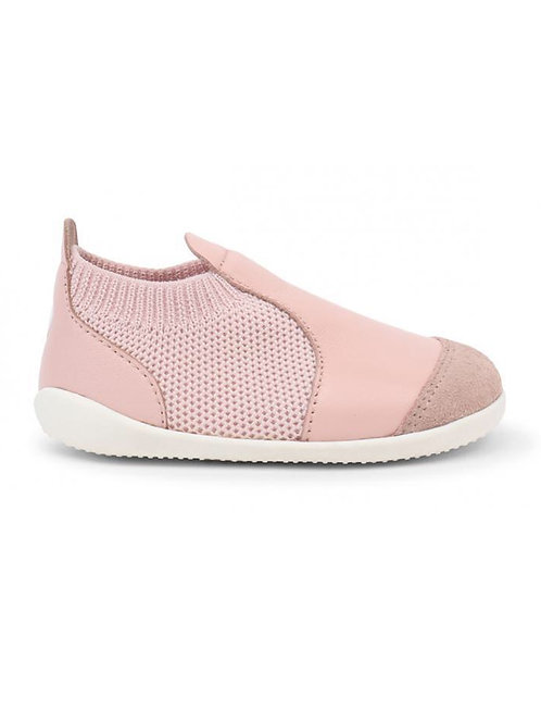 Bobux Active Knit Xplorer First Walkers - Seashell pink