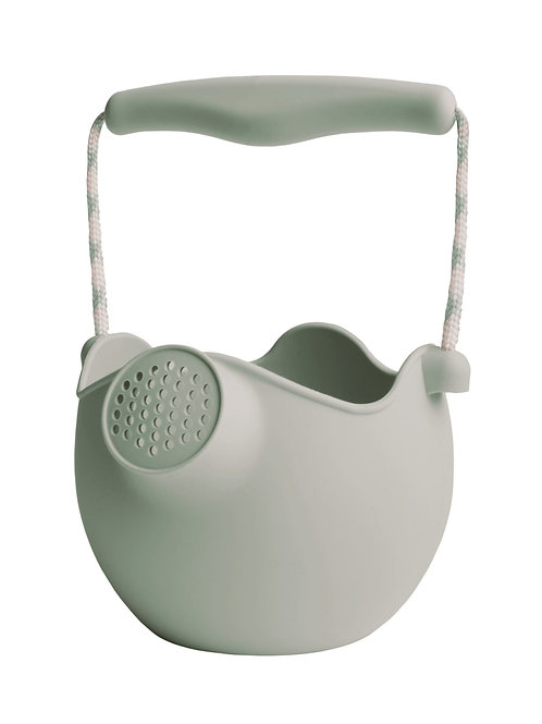 Scrunch Silicone Watering Can - Sage Green
