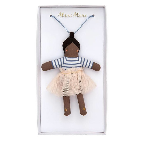 Meri Meri Dolly Necklace - Ruby