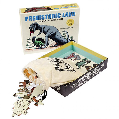 Prehistoric Land Glow In The Dark Puzzle