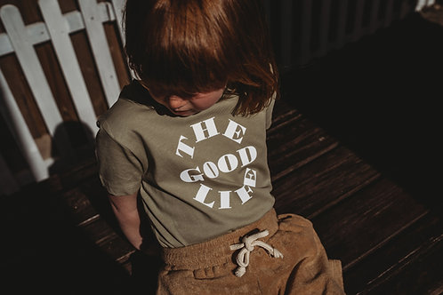 'The Good Life' Sage T-Shirt by Other Kids