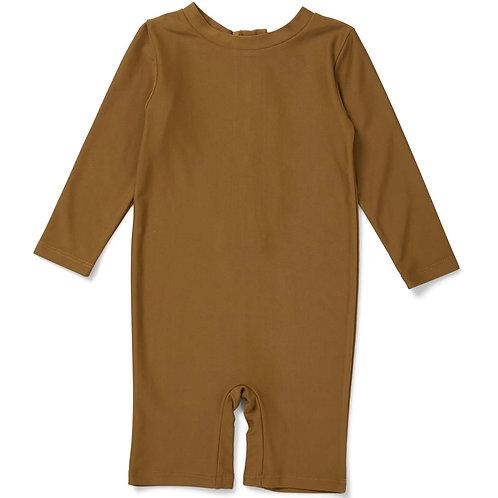 Konges Slojd Aster Unisex UV Swimsuit - Breen