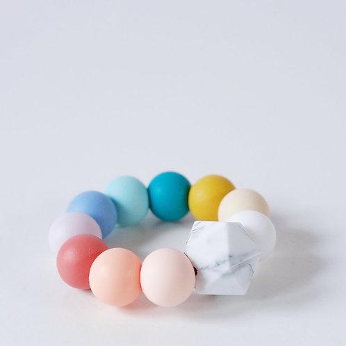 Rainbow Baby Teething Toy Blossom & Bear teether