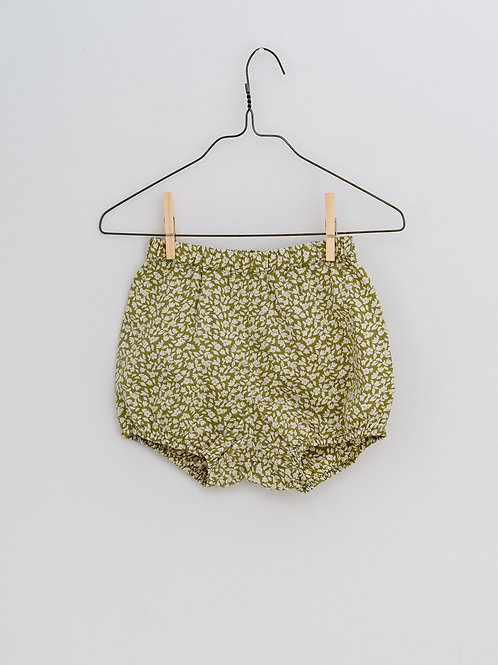 Charlie Bloomers in Floral Samphire - Little Cotton Clothes