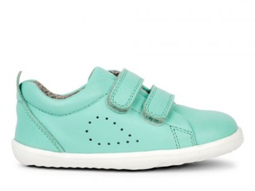 Bobux Step Up Grass Court Peppermint trainers