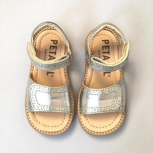 Petasil Luna Sandals - Silver