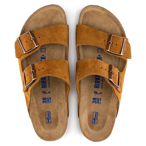 Birkenstock Womens Arizona - Mink Suede ladies sandals