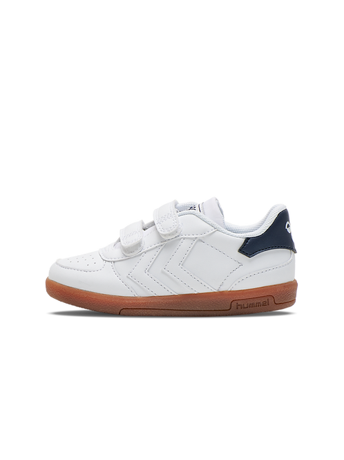 Hummel Victory Infant Trainers - White / Navy / Coral