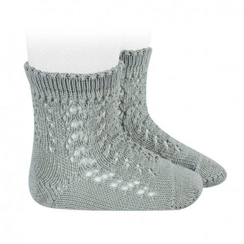 Condor Openwork Short Socks - Dry Green 756
