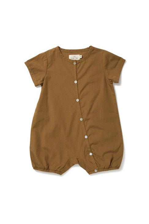 Konges Slojd Verbena Romper Breen baby clothes organic cotton