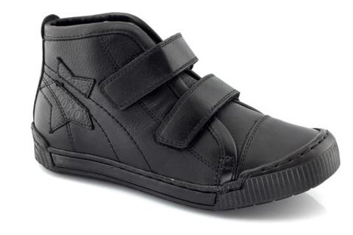 Froddo Boys Black Leather School Boot