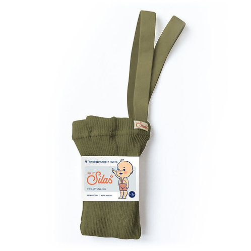 Silly Silas Shorty - Olive
