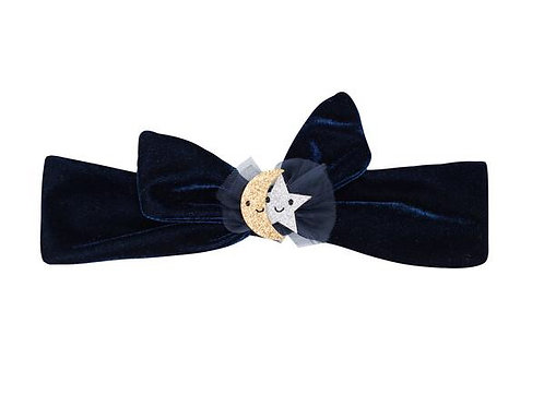 Billy Loves Audrey Wish Upon a Star Headband in Midnight Blue