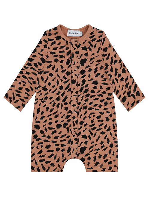 Abstract Animal Baby Romper - Another Fox