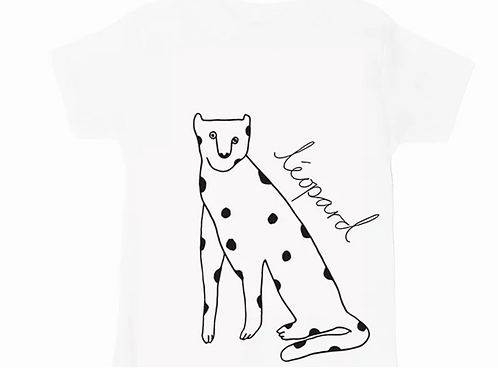 Leopard Tee by Wexbaby