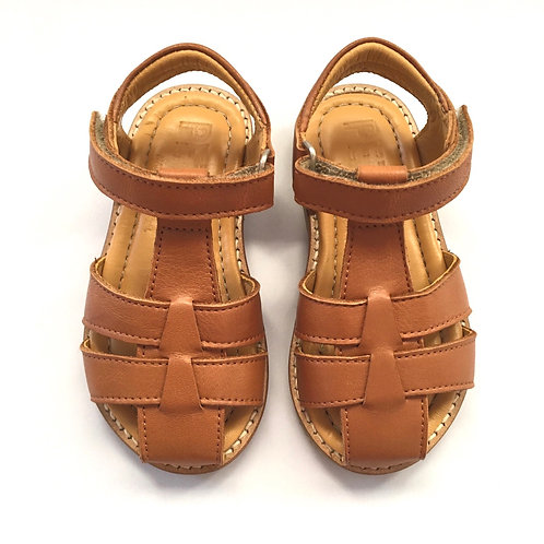 Petasil Fisherman Sandals Cognac brown tan