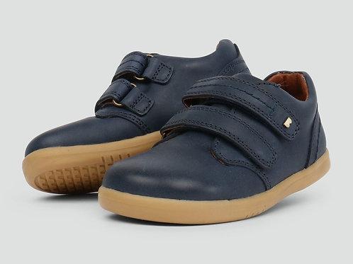Bobux Port IWalk Shoe Navy velcro