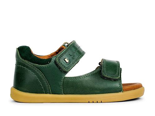 Bobux IWalk Driftwood Sandals Forest green shoes velcro