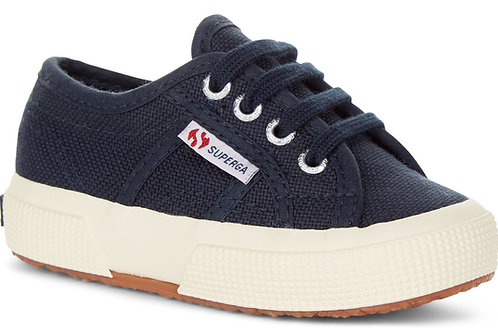 Superga 2750 Classic Lace Up Navy shoes trainers