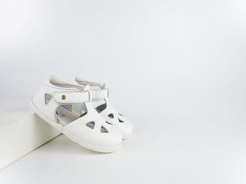 Bobux SU Zap First Walker Shoes - White
