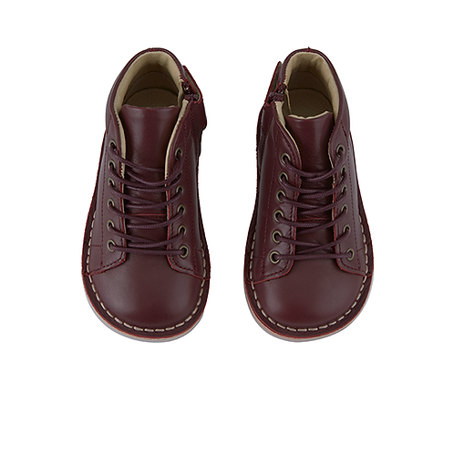 Young Soles Fletcher Monkey Boots - Oxblood