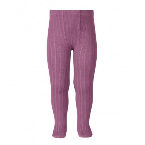 Ribbed tights in Cassis - Condor