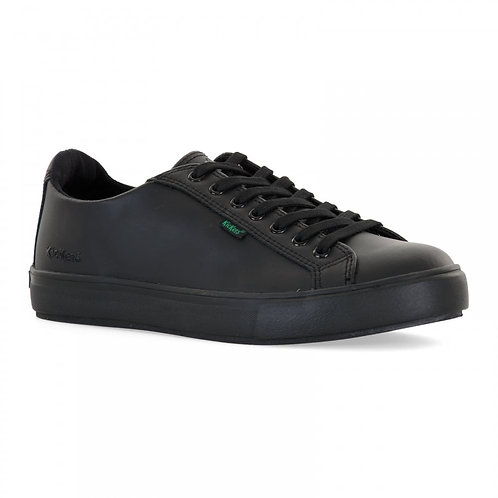 Kickers Tovni Lacer Black School Shoes trainers