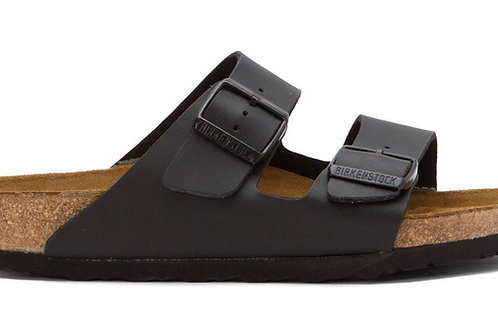 Birkenstock Womens Arizona Birko-Flor - Black