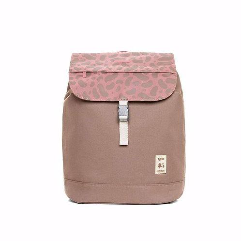 Lefrik Scout Backpack - Pink Multi/Camel