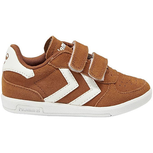 Hummel Victory II Suede Glazed Ginger brown trainers