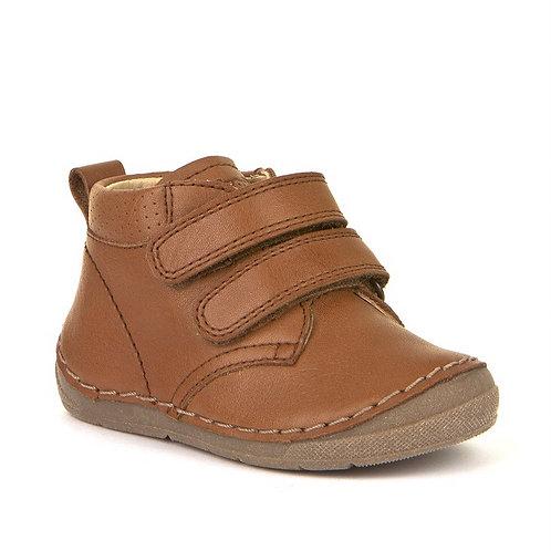 Froddo 2 Strap Toddler Boots Cognac tan brown
