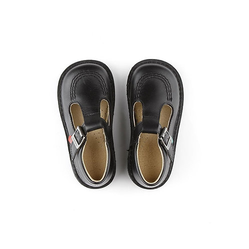 Kickers Kick-T Classic T-bar School Shoes