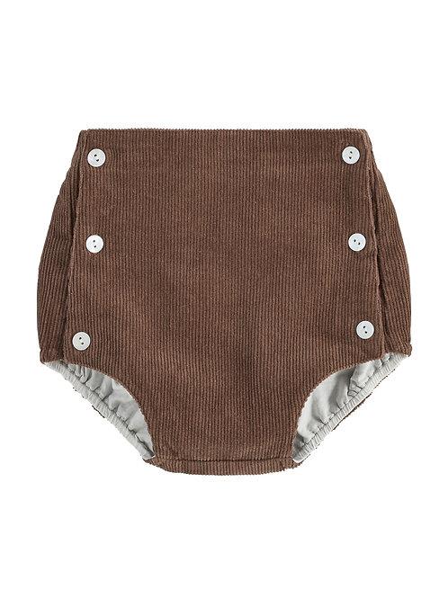 Folkstone Bloomer Brown Little Cotton