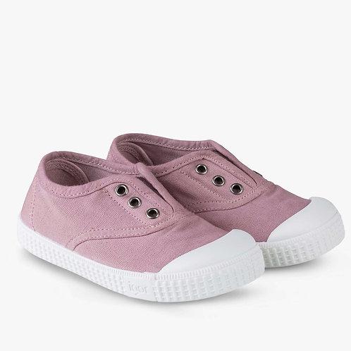 Igor Berri Canvas Rosa pink trainers