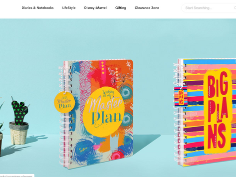 Colourful & attractive online stationery sites/brands in India
