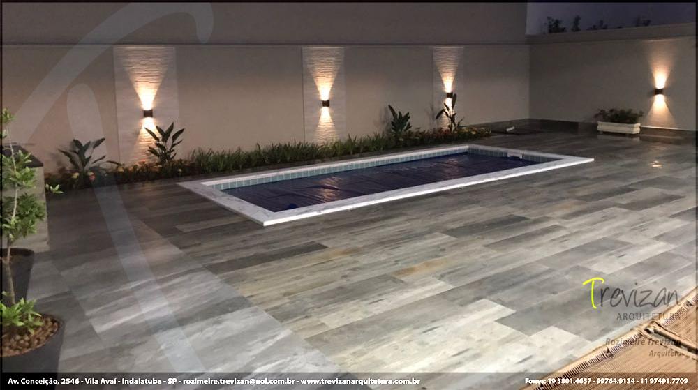 Projeto piscina Trevizan Arquitetura