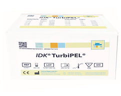 IDK® TurbiPEL® Faecal Pancreatic Elastase turbidimetric assay for clinical chemistry analysers.