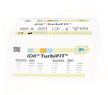 IDK® TurbiFIT® Faecal Haemoglobin turbidimetric assay for clinical chemistry analysers.