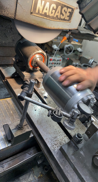 Surface Grinding The Shaft