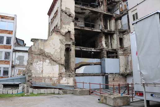 NATO bombing site — Belgrade, Serbia