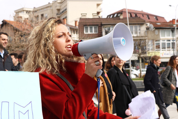 International Women's Day 2018 — Pristina, Kosovo