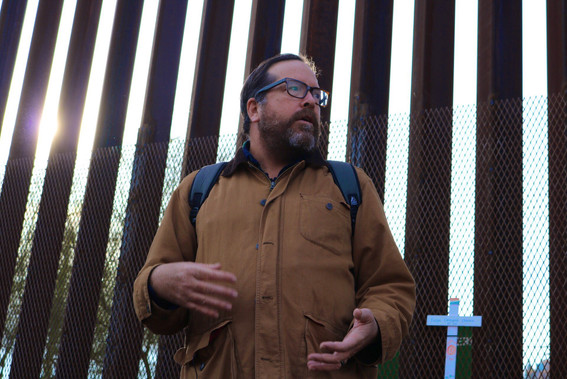 Author Todd Miller discusses the militarization of the boder wall