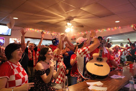 Croatia World Cup semifinal — Kansas City, KS