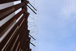 U.S./Mexico border wall, Nogales Arizona