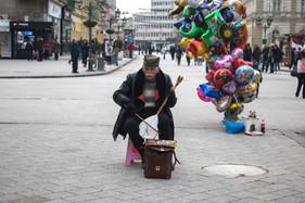 Street Musician — Novi Sad, Serbia