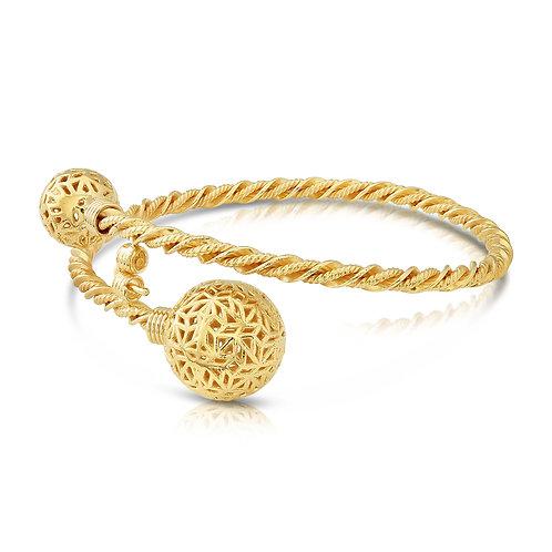 Modern Structure Balls Bracelet
