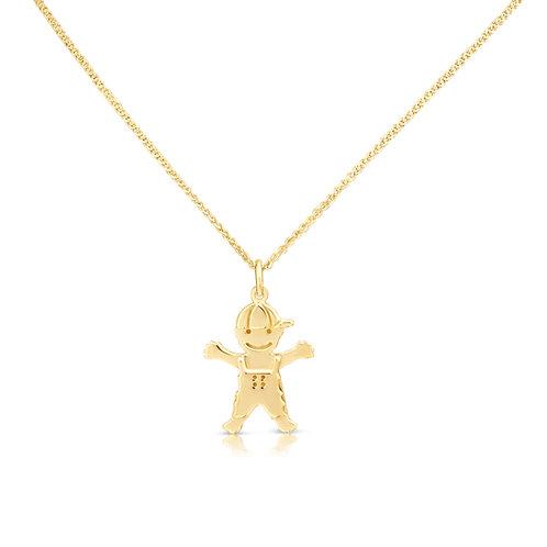 Boy Gold Pendant