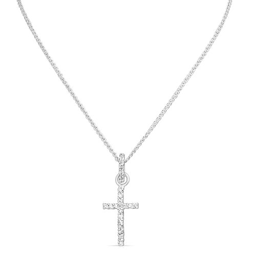 Diamond Inlaid Cross & Holder