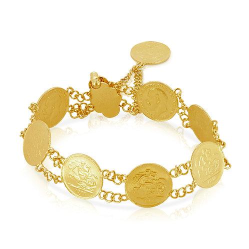 21K 8 Gold Leras Bracelet
